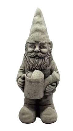 large unpainted gnome