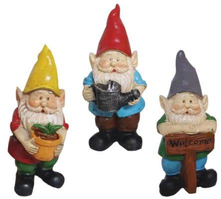 3 small gnomes