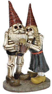 Skeleton Undead Evil Gmone Drinking Beer