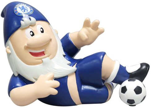 a chelsea gnome sliding tackle