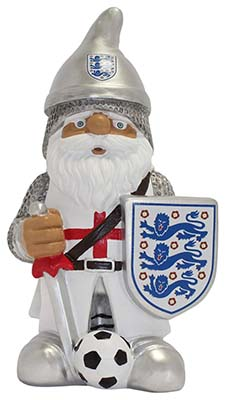 England Gnome Knight with Crest