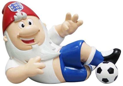 England Sliding Tackle Football Gnome