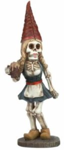 female scary gnome front view
