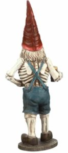 Male Scary Gnome back view