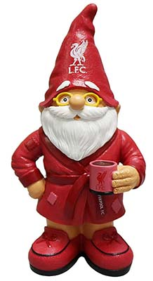 Liverpool FC dressing gown gnome