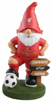 Liverpool FC champions gnome