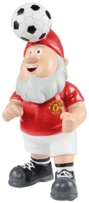 Man United Gnome Heading a ball