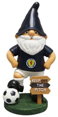 scottish gnome with ball
