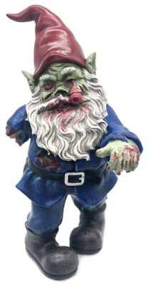 Walking Dead Zombie Gnome front view