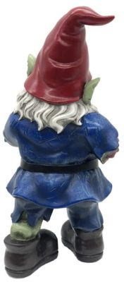 Walking Dead Zombie Gnome back view