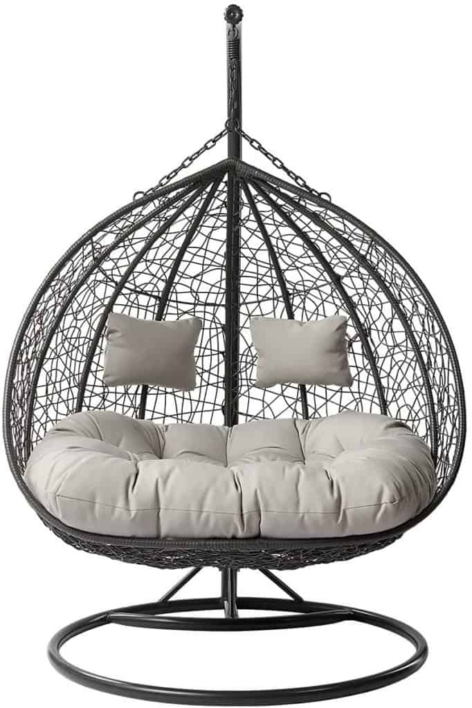 2 seater egg chair