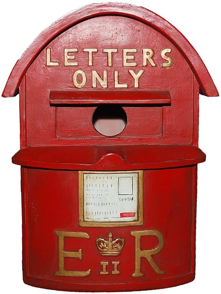 letterbox bird house