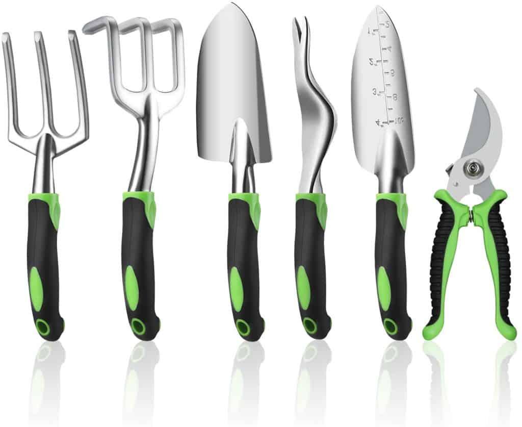 6 piece garden tool gift set