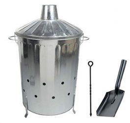 90L garden waste burner