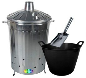 crazygadget 125L incinerator bin